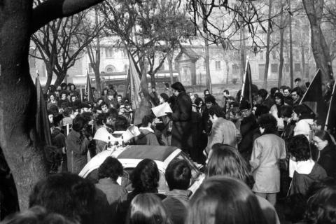 12 dicembre 1971, secondo anniversario della strage di Piazza Fontana